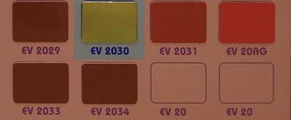 mã màu alu alcorest gương vàng ev2030 alu gương vàng